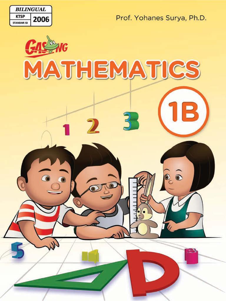 Matematika SD Kelas 1 - Bilingual 1B