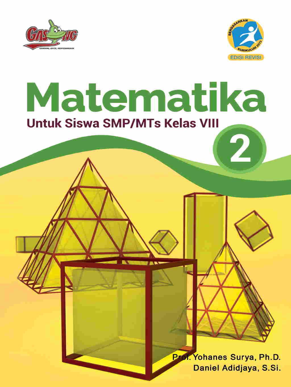 Matematika untuk siswa  SMP/MTS Kelas VIII - Kurikulum 2013