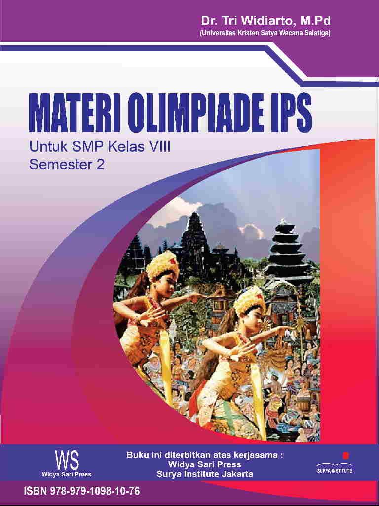 Materi Olimpiade IPS - SMP  Kelas 8 semester genap