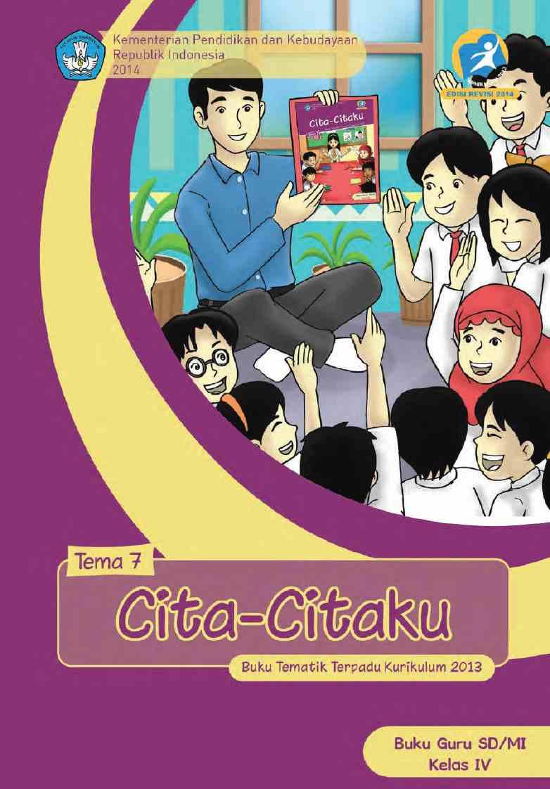Kelas 04 SD Tematik 7 Cita-citaku (Guru)