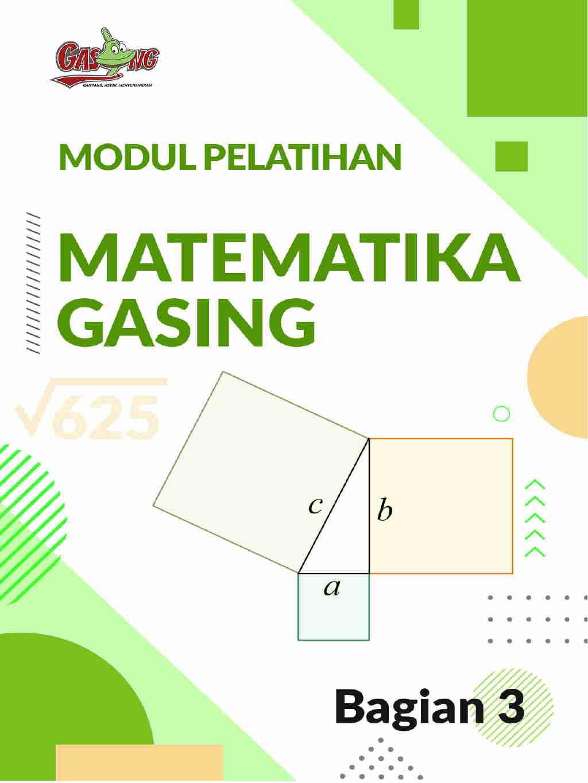 Modul Pelatihan Matematika Gasing Bagian 3
