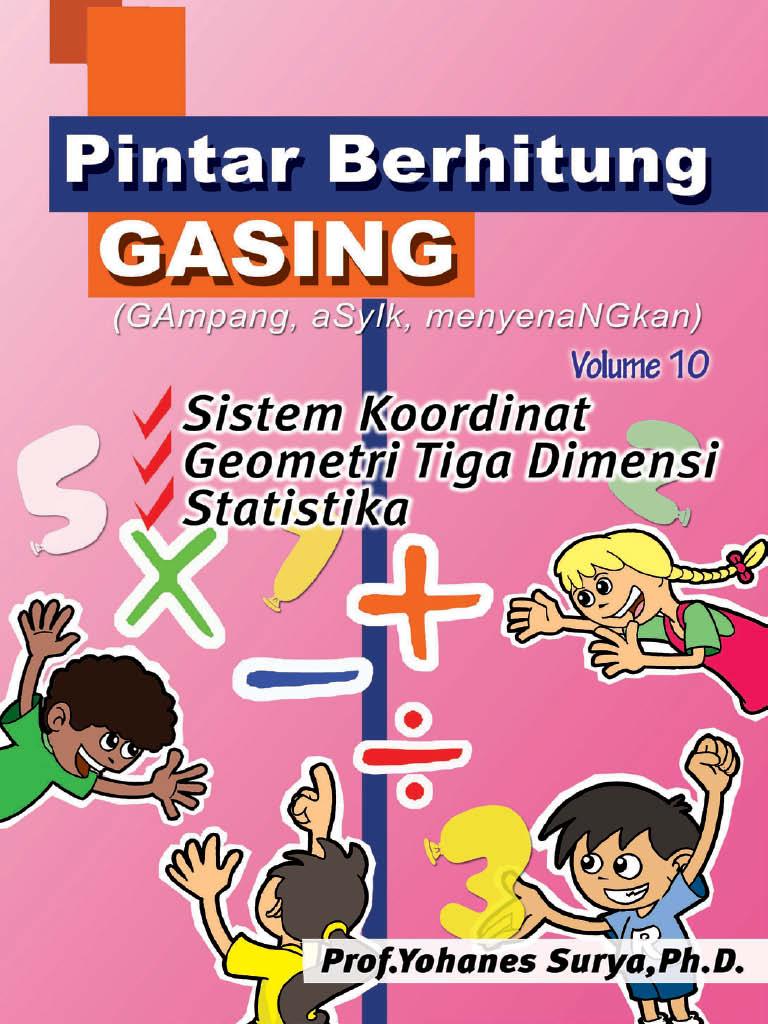 Latihan Pintar Berhitung  Gasing - SD - Vol 10