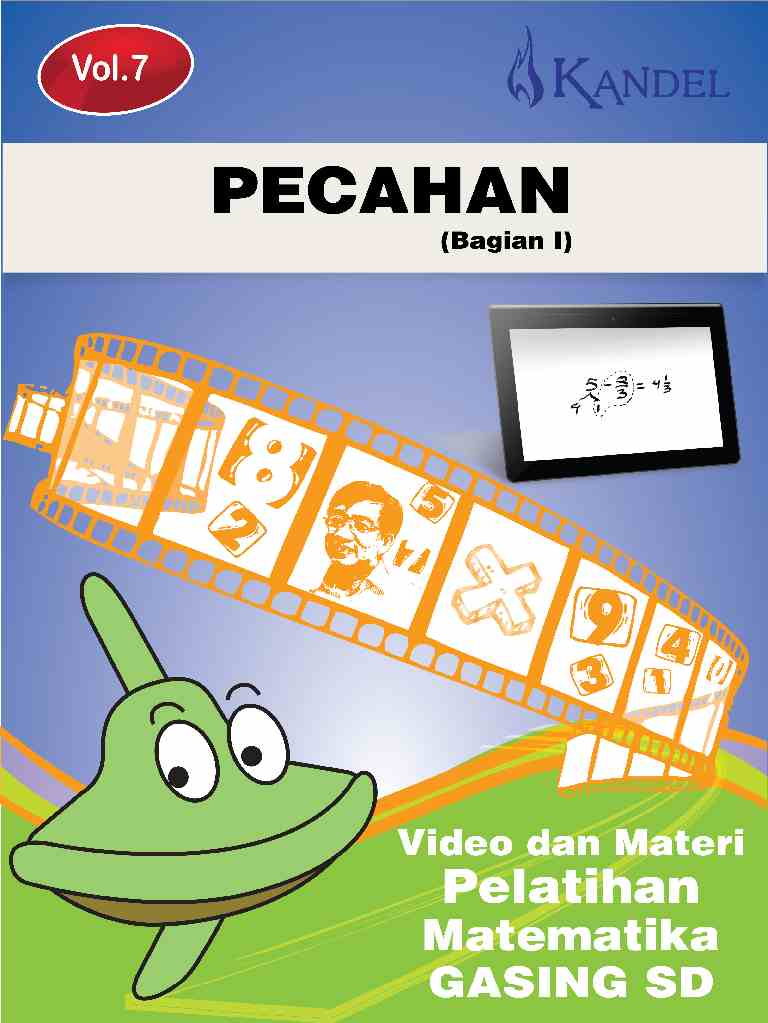 Vol 7 Video Tutorial Pelatihan Matematika Gasing - SD