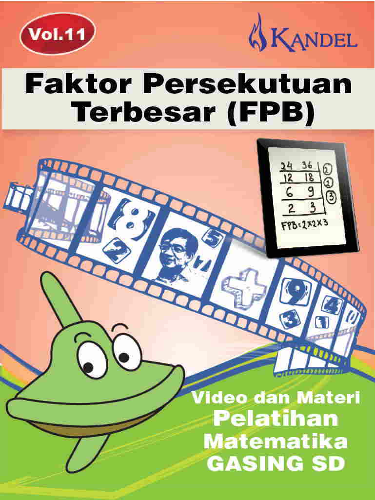 Vol 11 Video Tutorial Pelatihan Matematika Gasing - SD